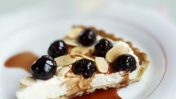 Rezept: Ricotta-Tarte mit Kirschen nach italienischer Art (Crostata)