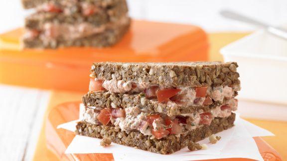 Rezept: Ricotta-Tomaten-Sandwich