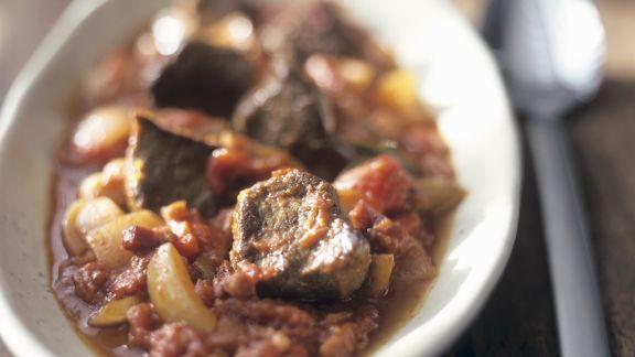 Rezept: Rinder-Tomaten-Gulasch