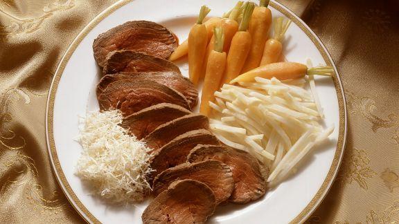 Rezept: Rinderfilet mit Gemüse