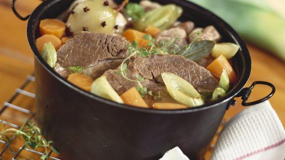 Rezept: Rindfleisch-Gemüse-Eintopf