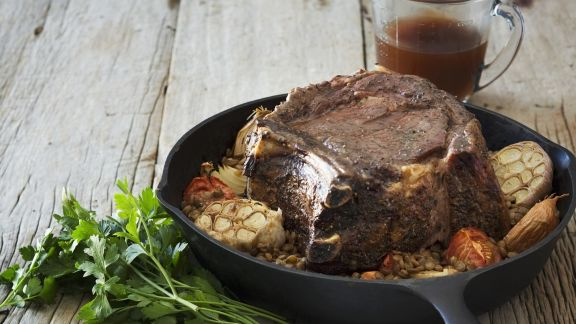 Rezept: Rindfleisch mit Knoblauch