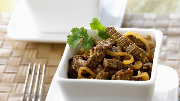 Rezept: Rindfleischcurry auf indonesische Art