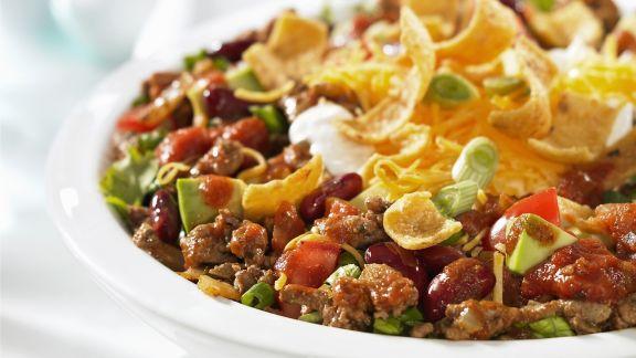 Rezept: Rindfleischsalat mit Nachos