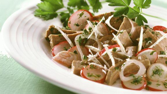 Rezept: Rindfleischsalat mit Radieschen