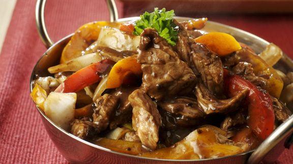 Rezept: Rindfleischtopf mit schwarzen Bohnen