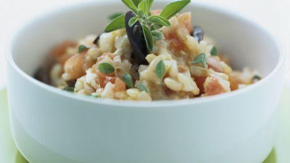 Rezept: Risotto mit Gemüse und Majoran