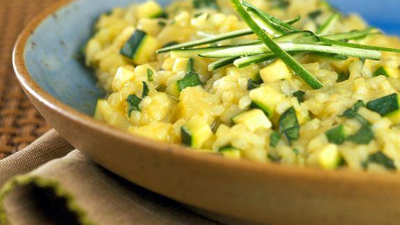 Rezept: Risotto mit Zucchini