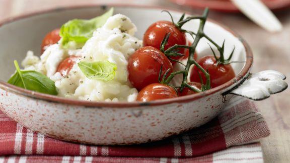 Rezept: Risotto mit Tomaten