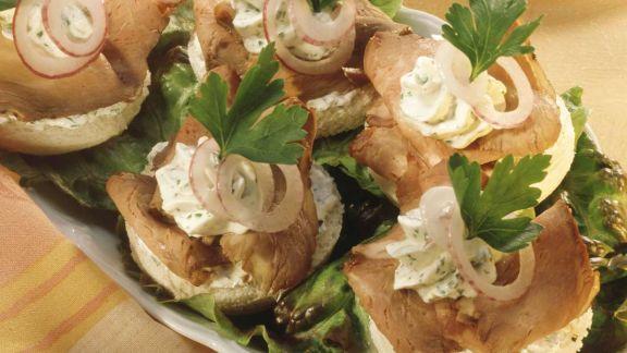 Rezept: Roastbeef-Canapes