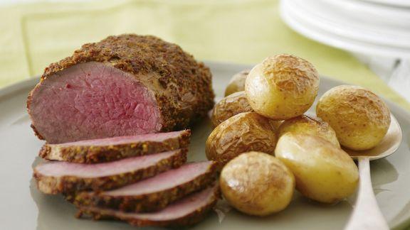 Rezept: Roastbeef in Senfmarinade