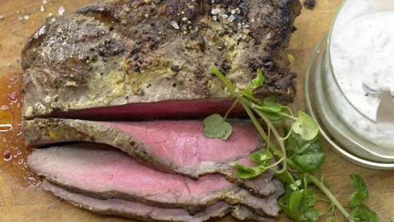 Rezept: Roastbeef mit Mandel-Remoulade