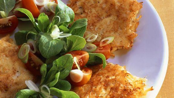 Rezept: Rösti mit Salat