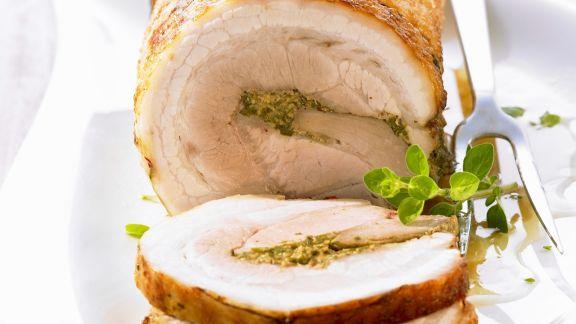 Rezept: Rollbraten vom Schwein