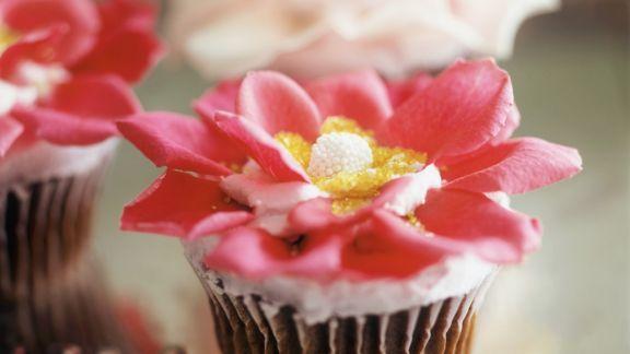 Rezept: Rosen-Cupcake