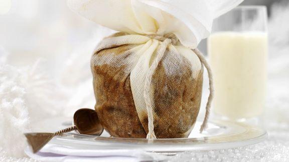 Rezept: Rosinenpudding
