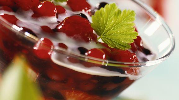 Rezept: Rote Beerengrütze