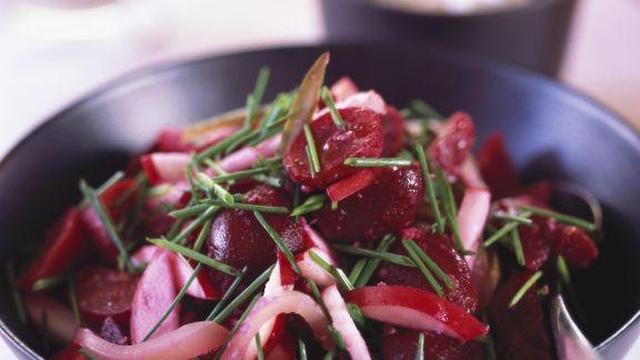 Rezept: Rote-Bete-Apfel-Salat
