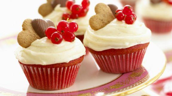 Rezept: Rote Cupcakes