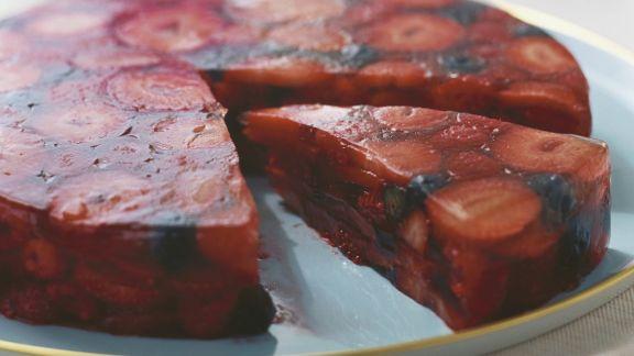 Rezept: Rote-Grütze-Kuchen