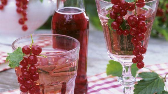 Rezept: Roter Johannisbeersirup