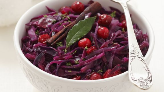 Rezept: Rotkraut mit Cranberries