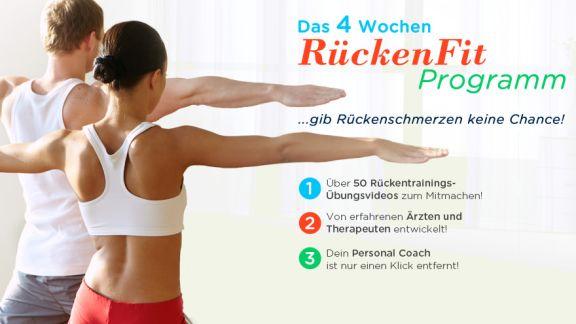 Rückengymnastik programm