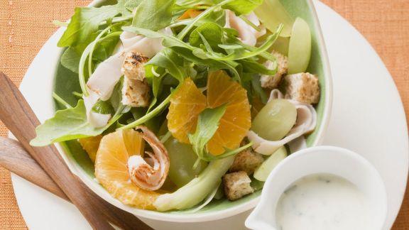 Rezept: Rucola-Mandarinen-Salat