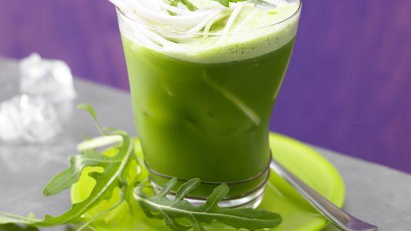 Rezept: Rucola-Sellerie-Drink