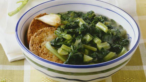Rezept: Rübstiel-Gemüse
