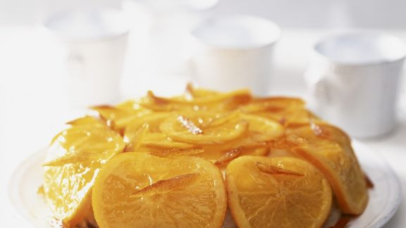 Rezept: Rum-Orangen-Dessert