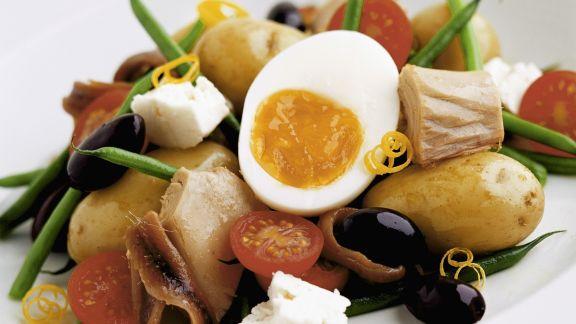 Rezept: Salade niçoise