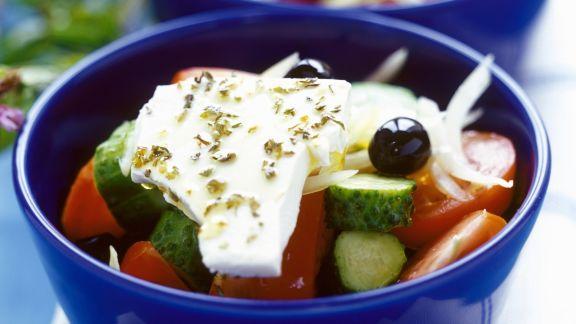 Rezept: Salat auf griechische Art