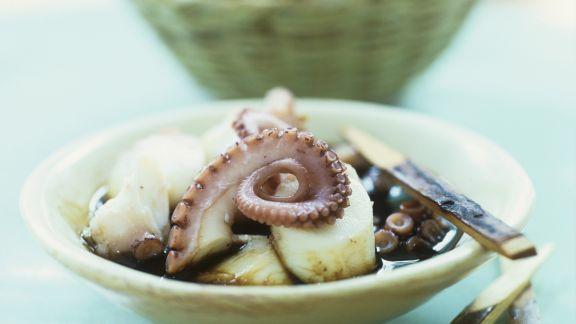 Rezept: Salat aus Oktopus