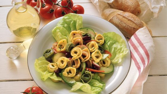 Rezept: Salat mit Tortellini