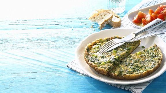Rezept: Salat-Omelette