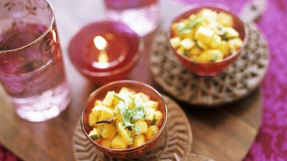 Rezept: Salsa aus Mango