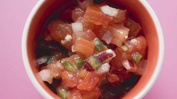 Rezept: Salsa aus Tomate
