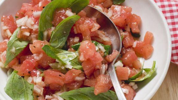 Rezept: Salsa aus Tomaten