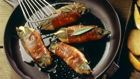 Rezept: Saltimbocca vom Hähnchen