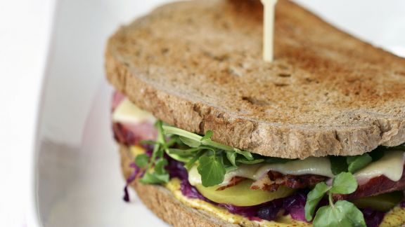 Rezept: Sandwich mit Corned Beef