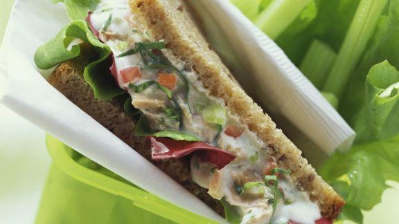 Rezept: Sandwich mit Thunfisch