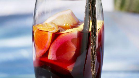 Rezept: Sangria mit Vanille