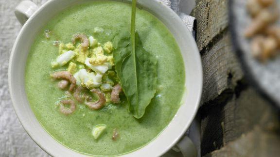 Rezept: Sauerampfer-Cremesuppe