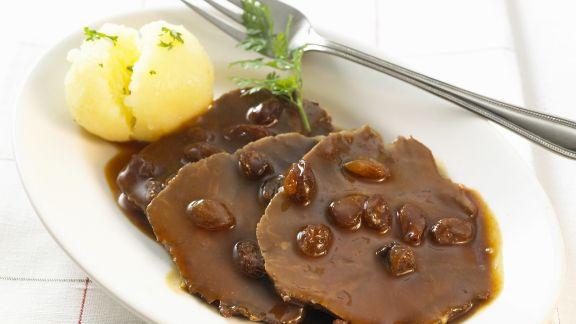 Rezept: Sauerbraten auf rheinische Art
