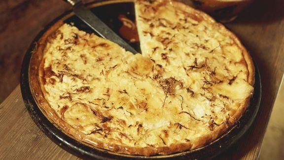 Rezept: Sauerkraut-Munster-Tarte