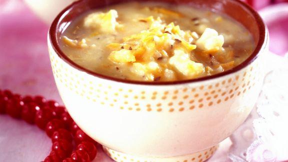 Rezept: Sauerkrautsuppe auf polnische Art