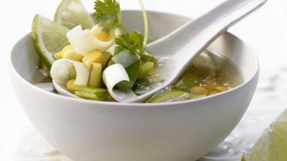 Rezept: Scharfe Maissuppe