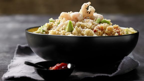 Rezept: Scharfer Couscous-Salat