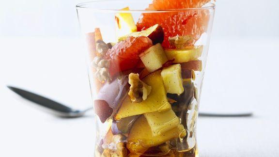 Rezept: Scharfer Fruchtsalat